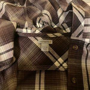 Women's Carhartt Hooded Flannel